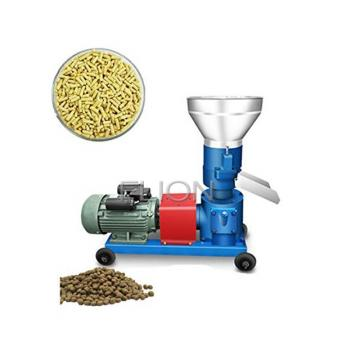 Animal Feed Pellet Production Line / Manual Cattle Feed Pellet Making Machine