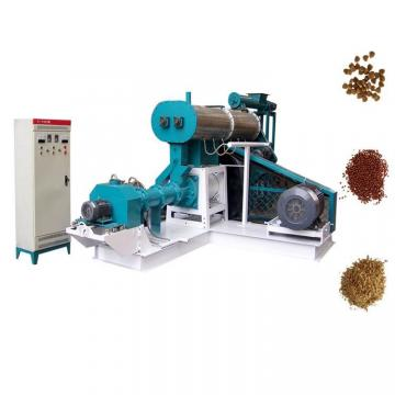 Sinking Fish Feed Extruder Machinery Plant , Fish Feed Production Machine