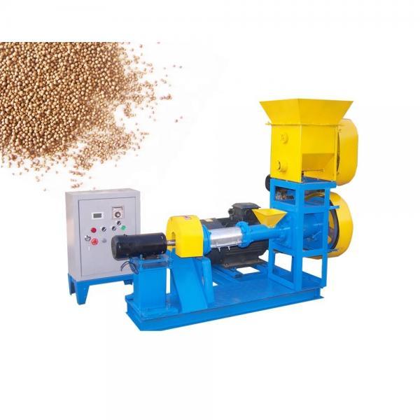 Extruder fish feed floating fish feed pellet making machine #3 image