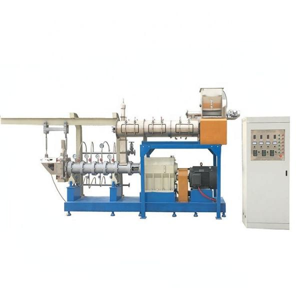 Complete Animal Feed Pellet Floating and Sinking Fish Food Processing Production Line #2 image