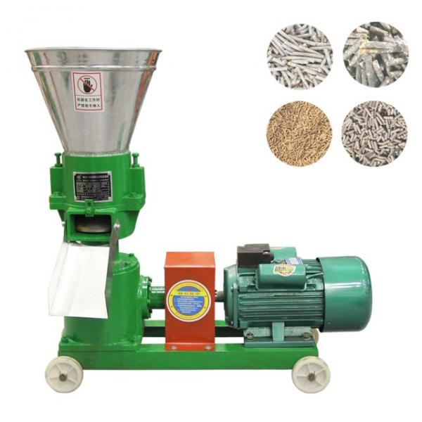Complete Animal Feed Pellet Floating and Sinking Fish Food Processing Production Line #3 image