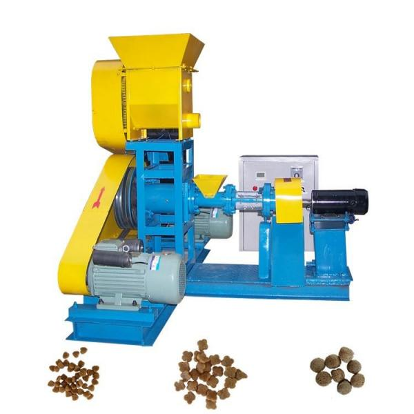Small automatic chicken feed making machine animal feed pellet machine feed pellet mill for sale #3 image