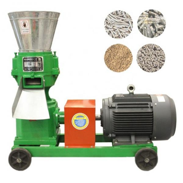 Homemade and automatic poultry feed pellet making machine #2 image